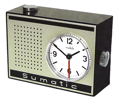 Travel alarm clock Sumatic